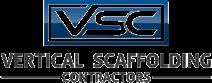 Vertical Scaffolding Logo